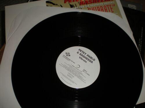 Petey Pablo & Rasheeda Vibrate VINYL clean album acappella versions