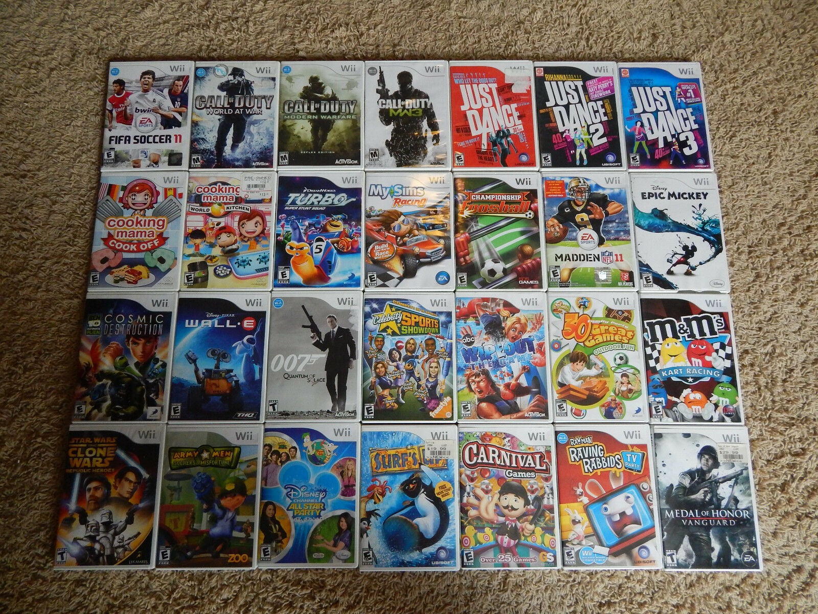$5.95 - Nintendo Wii Games! You Choose from Large Selection!