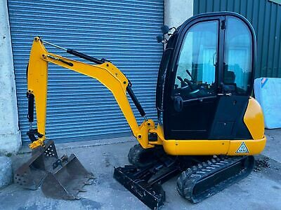 JCB 8018 Mini Digger - 2014 - Excellent Condition - Excavator 1.8 tonne