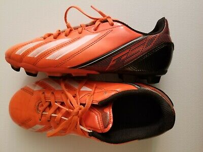 Boys Size US 4 Adidas F-50 Soccer Cleats. Pre-owned.