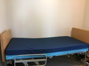 Extra wide medical bed