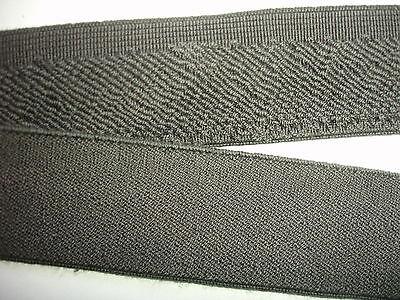 10m Gummiband 0,60€/m Bündchenware grau 3 cm breit  M52.1