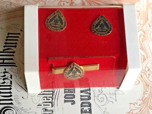 1964 Dodge Tie and cuff Links, 50 years of Dependability 1914-1964, New In Box