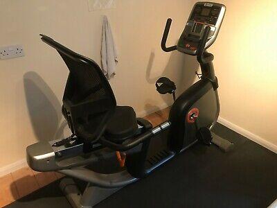 Horizon Elite R4000 Recumbent Cycle Excellent Condition