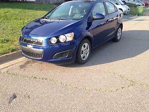 *ONLY 6000 KM* 2012 Chevrolet Sonic sedan