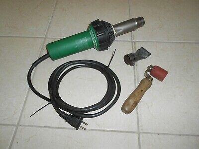 Leister Ch 6060 Heat Gun Hot Air Blower Plastic Welder