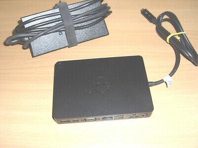 Dell WD15 docking station K17A001 & 130w PSU Mini-Display Port USB-C P/No 05FDDV
