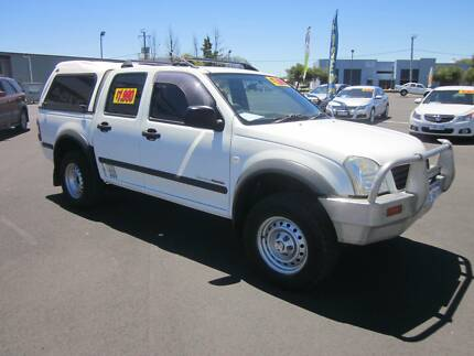 2005 Holden Rodeo 4X4 3.0TD Dual Cab Ute Busselton Busselton Area Preview