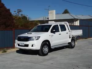 2013 Toyota Hilux SR 4x4 Dual Cab *FREE 2 year warranty* Margate Kingborough Area Preview