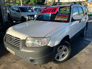 SUBARU FORESTER X 6/2007 AUTO BOOKS 2.5L JULY REGO *5YR WARRANTY