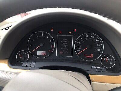 2006-2008 AUDI A4 B7 Gauge Cluster Instrument Panel  Speedometer