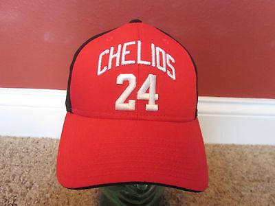 NHL Detroit Red Wings Cap Hat 24 Chris Chelios Hall of Fame Adjustable Reebok ()