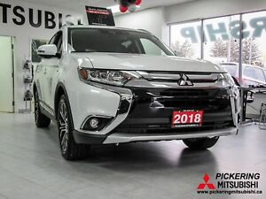 2018 Mitsubishi Outlander GT FULLY LOADED 0% Financing available