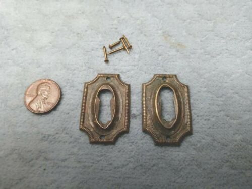 Sheraton Keyhole Escutcheon Period Brass