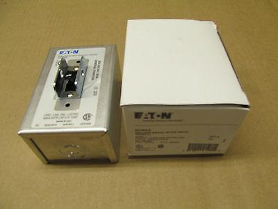 1 Nib Cutler Hammer B230ag Enclosed Manual Motor Switch 4 Available