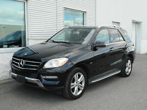 2012 Mercedes-Benz M-Class ML 350 BlueTEC 4X4/AWD**CUIR ** MAGS