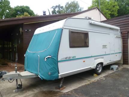 Geist LV485 Caravan, 18 ft. Tare 1200kg, full ensuite