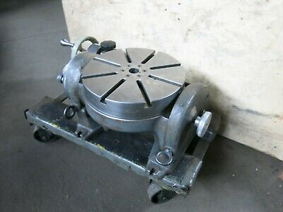 Hauser 12 14 Tilting Milling Rotary Table Made In Switzerland