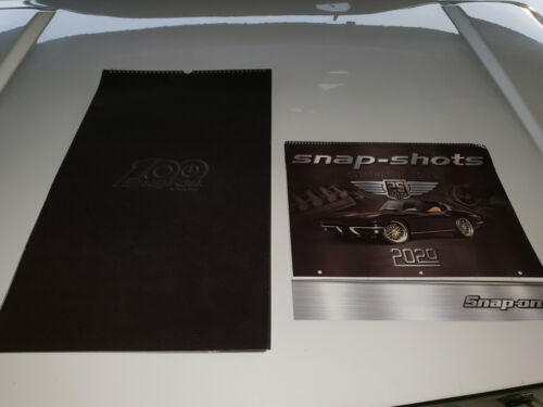 SNAP ON [2] NEW 100 year Snap-On/snap shots Collectors edition 2020 Calendars