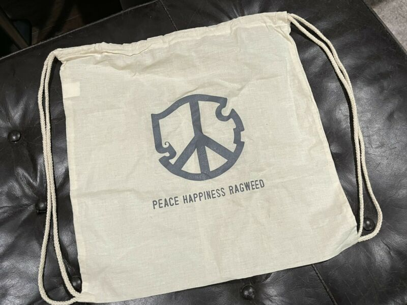 Cross Canadian Ragweed Backpack / Backsack RARE PEACE HAPPINESS RAGWEED