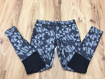 Nike Sport Women's Stretch Grey Yoga Running Workout Leggings Size Small