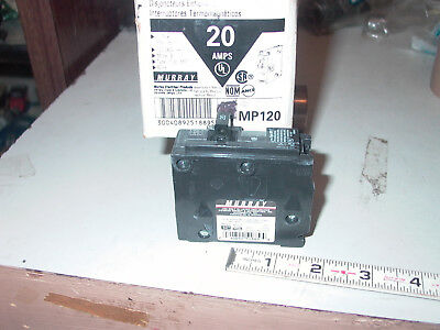 Murray 20 Amps Single Pole Circuit Breaker Mp120
