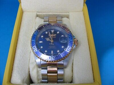 Invicta 8928 Stainless Steel Automatic Watch - Preowned