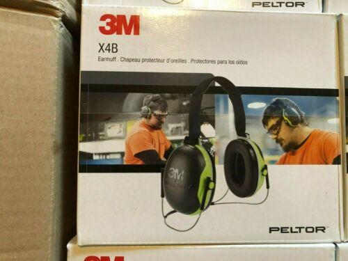 NIB, 3M, X4B, Ear Muffs,27dB Noise Reduction,X Series, Peltor, Hearing Protector