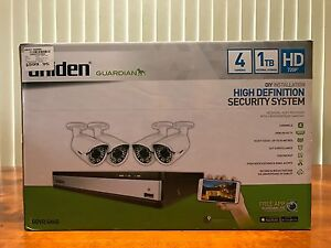 Uniden High Definition 4 Camera Security System 1TB Storage Berwick Casey Area Preview