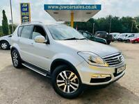 2014 Ssangyong Rexton 2.0TD AUTO T-Tronic EX - 7 Seats. Low Miles 48K. Leather.