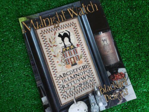 Midnight Watch - Cross Stitch Pattern by Blackbird Designs - Halloween