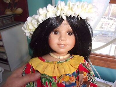 World Gallery Doll Mahealani - Rose Pinkul Limited Edition 443/2000- LOTHYM