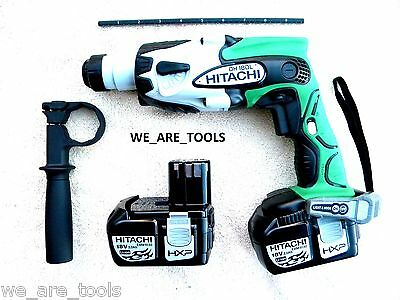 Hitachi Dh18dl 18v Cordless Sds Rotary Hammer Drill2 Ebm1830 Batteries 18 Volt