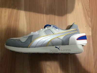 New Puma RS-100 Ader Error Mens Gray Textile & Leather Athletic Running Shoes