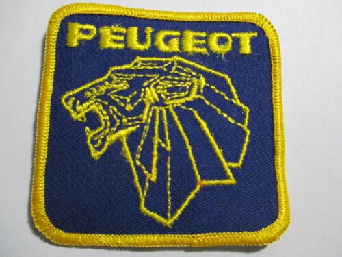 Peugeot Patch Vintage, Original, NOS 3 X 3 INCHES