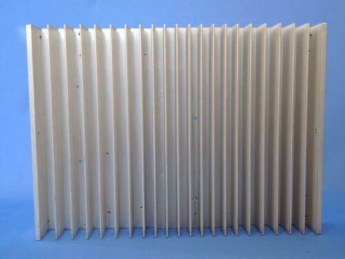 Heat sink aluminum 295 x 215 x 38 mm