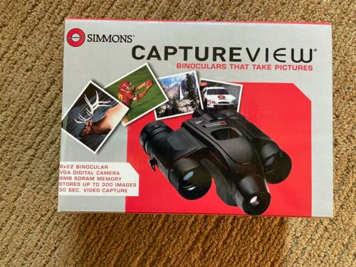 Simmons CaptureView 8X 22mm Binoculars & Digital Camera