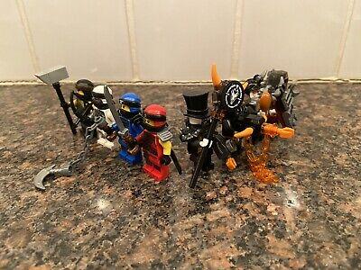 LEGO Ninjago Season 9 Minifigures (8 In Total)
