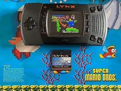 BennVenn Screen Upgraded Atari Lynx II Fully Recapped and More! Free Shipping!!!