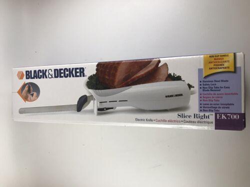 BLACK & DECKER EK700 Slice Right Electric Knife, Stainless S
