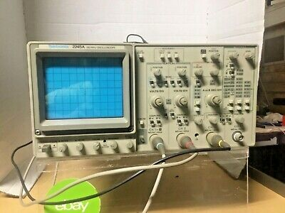 Tektronix 2245a 22 4 Channel Oscilloscope 100 Mhz 10x Magnif Exc Working Cond