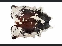 Authentic Cow Hide 6'x7' RUG **only 1 left**