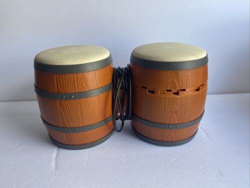 DK Bongos Nintendo GameCube DOL-021 Donkey Kong Drums Controller SHIPS TODAY - $19.90