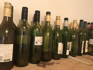 Wine bottles Glenorchy Glenorchy Area Preview