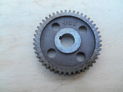Logan Lathe Change Gear 46 T 58 Bore