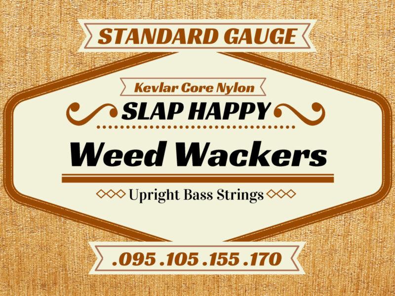 SLAP HAPPY WEEDWACKER Nylon Upright Double BASS STRINGS