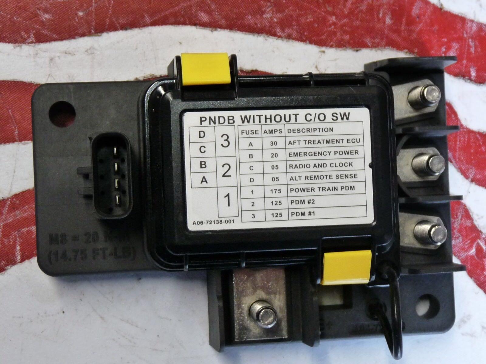 B10 FREIGHTLINER CASCADIA CORONADO Distribution power box w