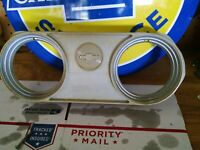 1962 1963 1964 1965 Nova Chevy II Vinyl Wrapped Dash Pad Black Made In USA N006V