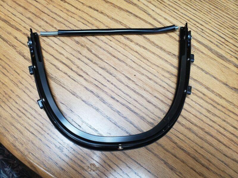 Hard Hat Adapter for Face Shield bracket, Aluminum, Radians HG-410A4, FREE SHIP