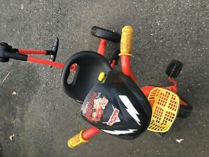 Lightning McQueen kids bike good for 2to 5 years